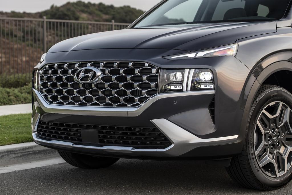 Hyundai Santa Fe 2021 ra mat Australia anh 6