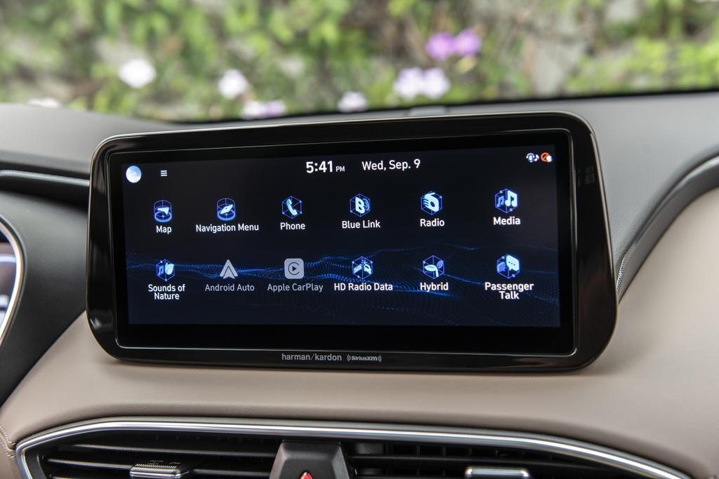 Hyundai Santa Fe 2021 ra mat Australia anh 8