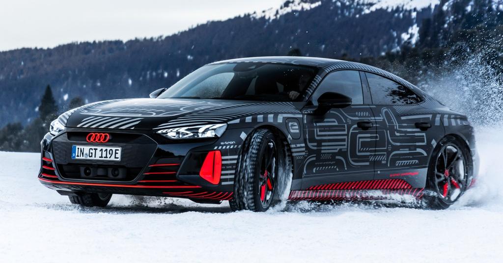 Audi e-tron GT sap ra mat anh 8