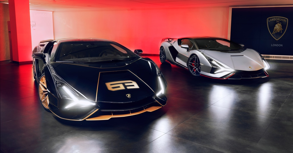 Lamborghini Sian ra mat anh 6