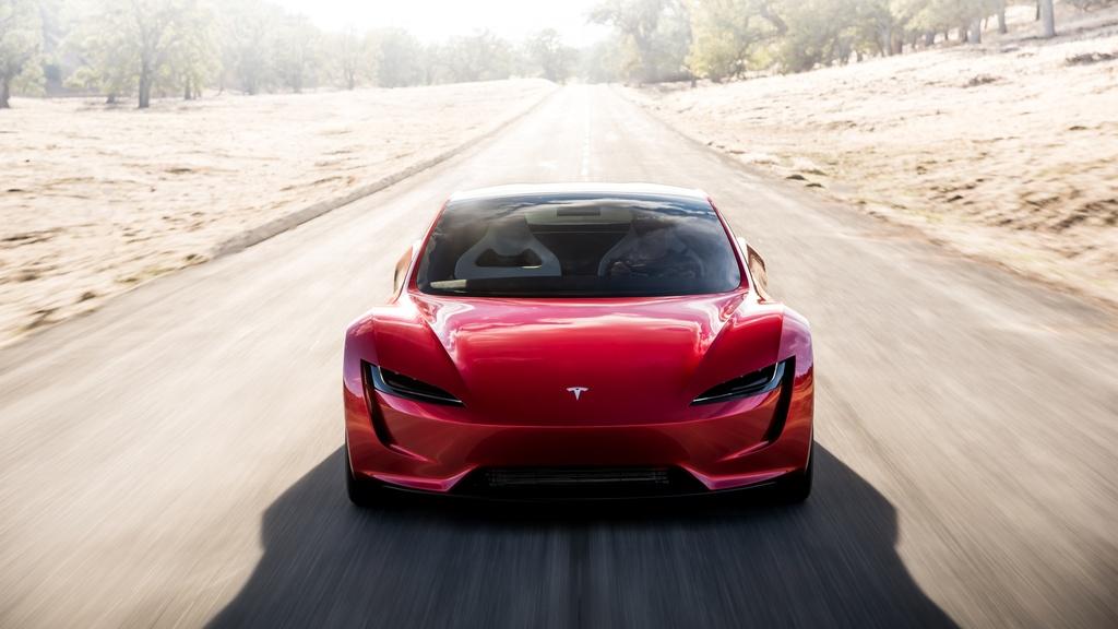 Tesla Roadster ra mat anh 3