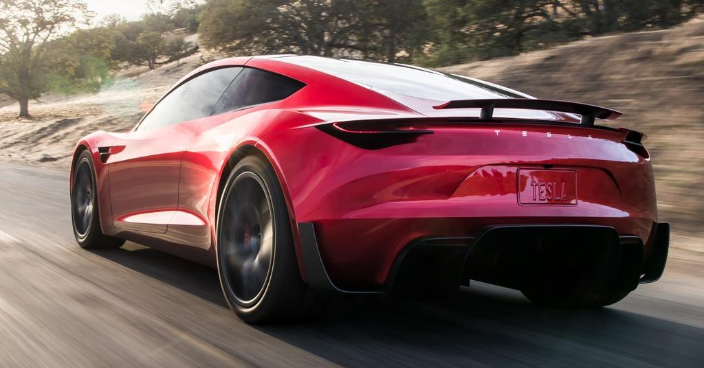 Tesla Roadster ra mat anh 2