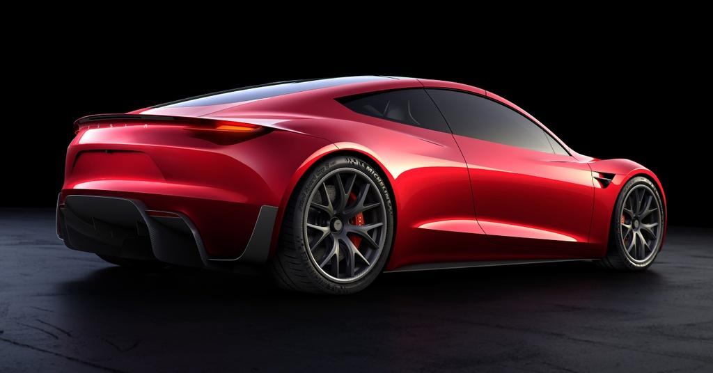 Tesla Roadster ra mat anh 4