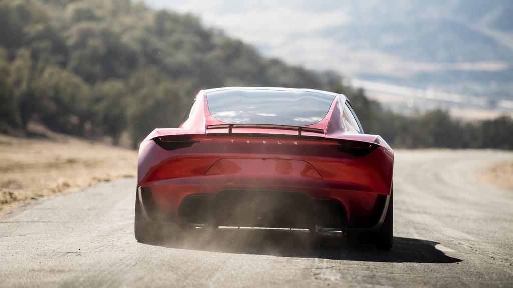 Tesla Roadster ra mat anh 5
