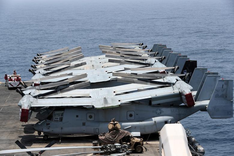 Can canh tau chien USS Boxer duoc cho la da ha guc drone cua Iran hinh anh 6