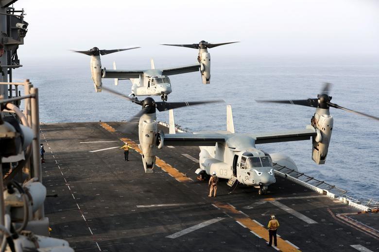 Can canh tau chien USS Boxer duoc cho la da ha guc drone cua Iran hinh anh 7