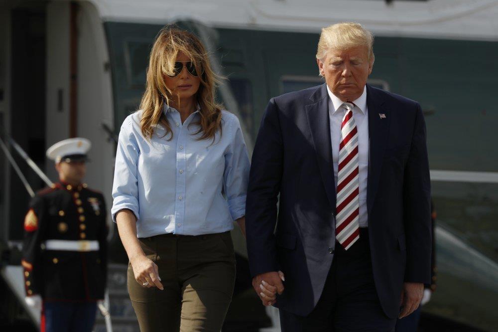 TT Trump bi chi trich vi khong xuat hien, 'chi ngoi tweet' ve xa sung hinh anh 1