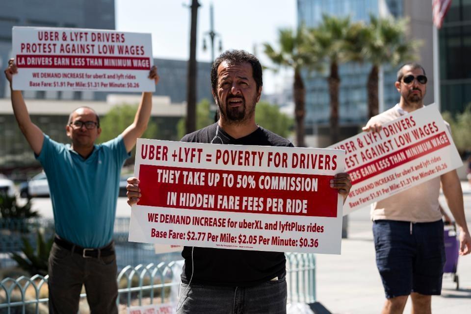 California thong qua luat buoc Uber xem tai xe la nhan vien chinh thuc hinh anh 4