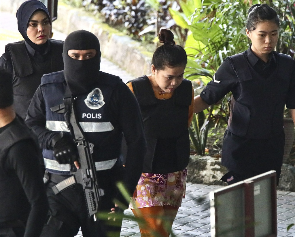 Co gai Indonesia lan dau ke ve nghi an am sat Kim Jong Nam hinh anh 7