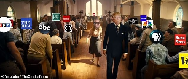 video che TT Trump xa sung nha tho anh 1