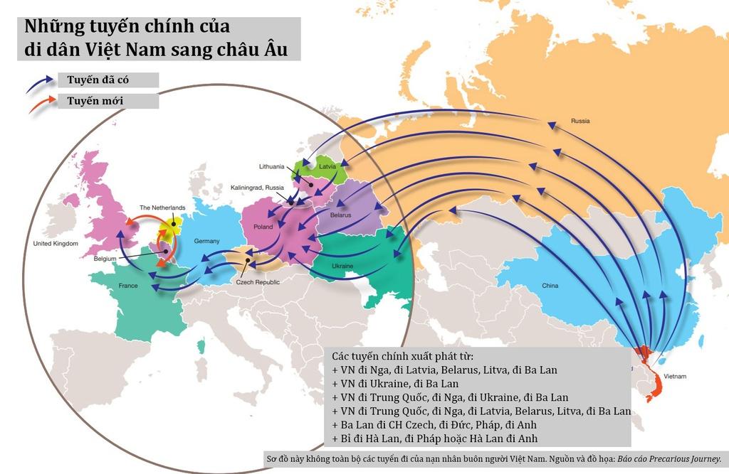 Vietnam City o Phap: Ban ngay nau an, dem den nhay xe container hinh anh 7