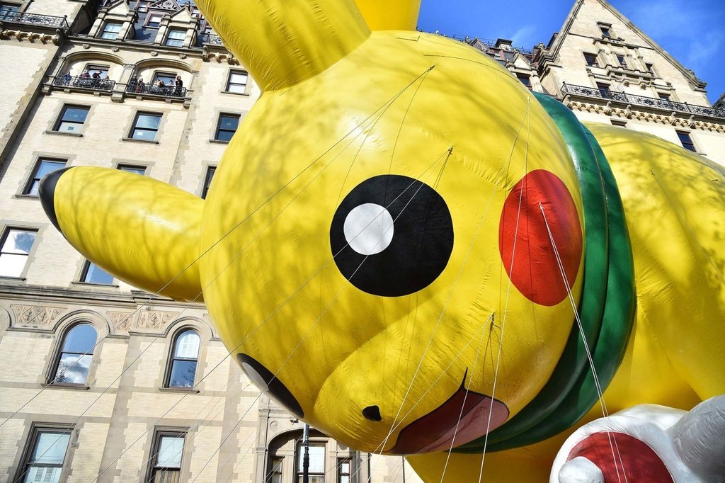 New York tung bung dieu hanh bong bay Pikachu, Son Goku dip le Ta on hinh anh 2
