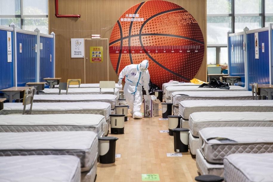 "另一个女孩翻译了"" troi come to"" -suc在中国oi歌图片4 wuhan_hospital_close_AFP.jpg"