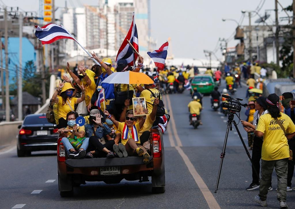 bieu tinh o Thai Lan anh 4