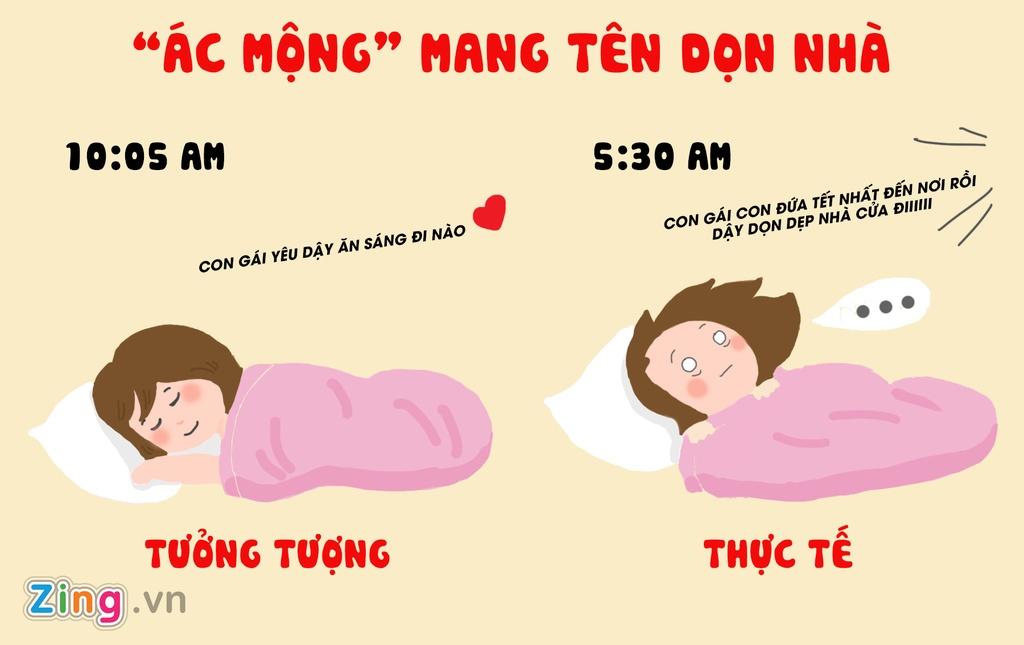 Tranh vui: Tet von di 'khong nhu la mo' doi voi hoi chi em Viet hinh anh 2