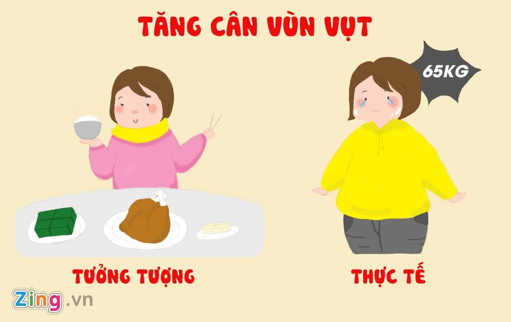 Tranh vui: Tet von di 'khong nhu la mo' doi voi hoi chi em Viet hinh anh 5