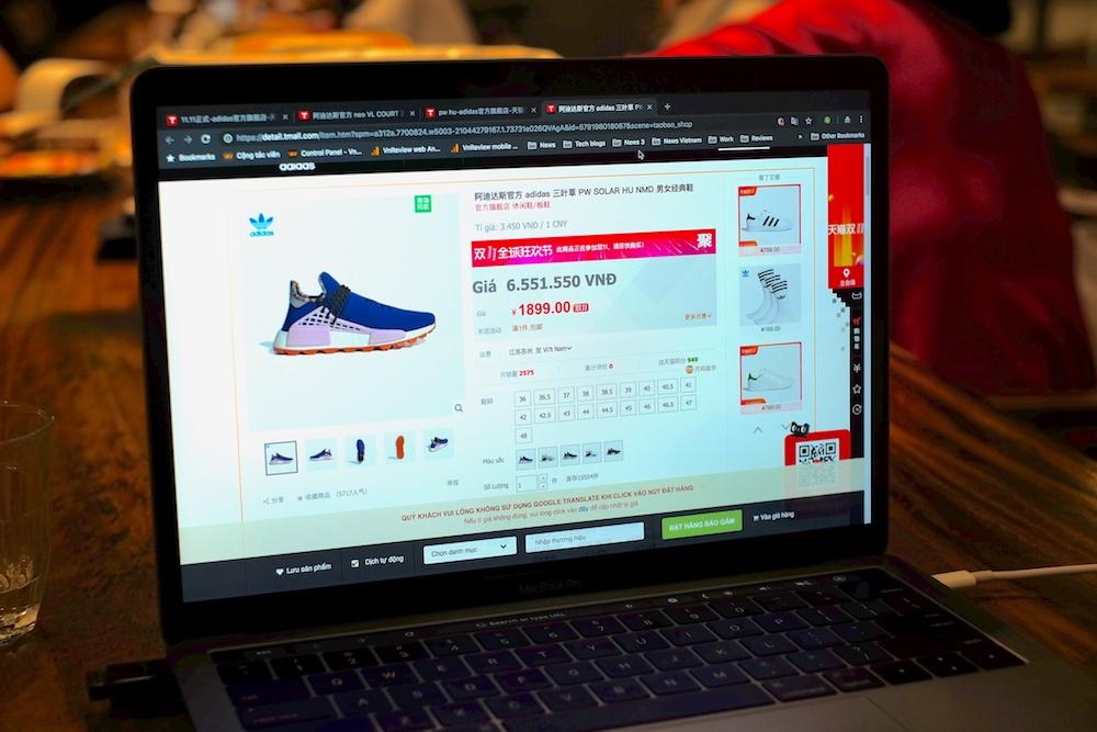 Dịch vụ tự động còn có thể hiển thị giá tiền, tỷ giá trực tiếp trên trang web của Alibaba, sau đó cho phép đặt hàng ngay trong trình duyệt.