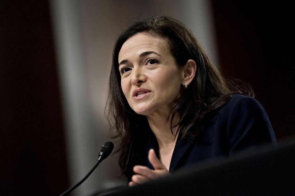 Đến cả nhân vật thứ hai tại Facebook là bà Sheryl Sandberg cũng có lúc thấy lo lắng về vị trí của mình. Ảnh: Bloomberg.