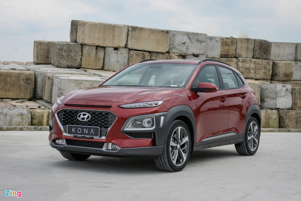Ford EcoSport va Hyundai Kona xe nao dang mua. anh 2