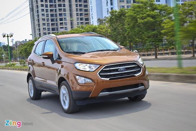 Ford EcoSport va Hyundai Kona xe nao dang mua. anh 1