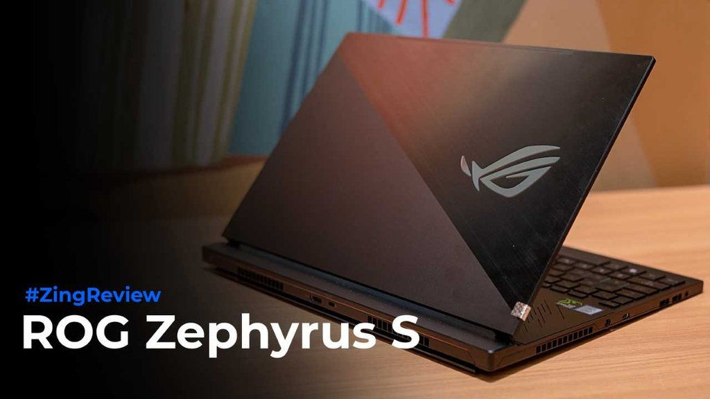 Danh gia ROG Zephyrus S - laptop gaming mong nhat the gioi hinh anh 1