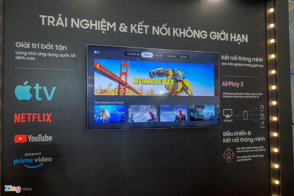 Samsung ra mat TV QLED 8K dau tien tai Viet Nam hinh anh 11