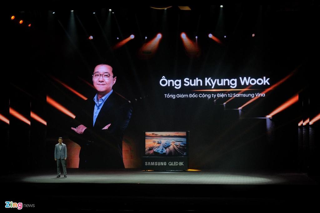 Samsung ra mat TV QLED 8K dau tien tai Viet Nam hinh anh 4