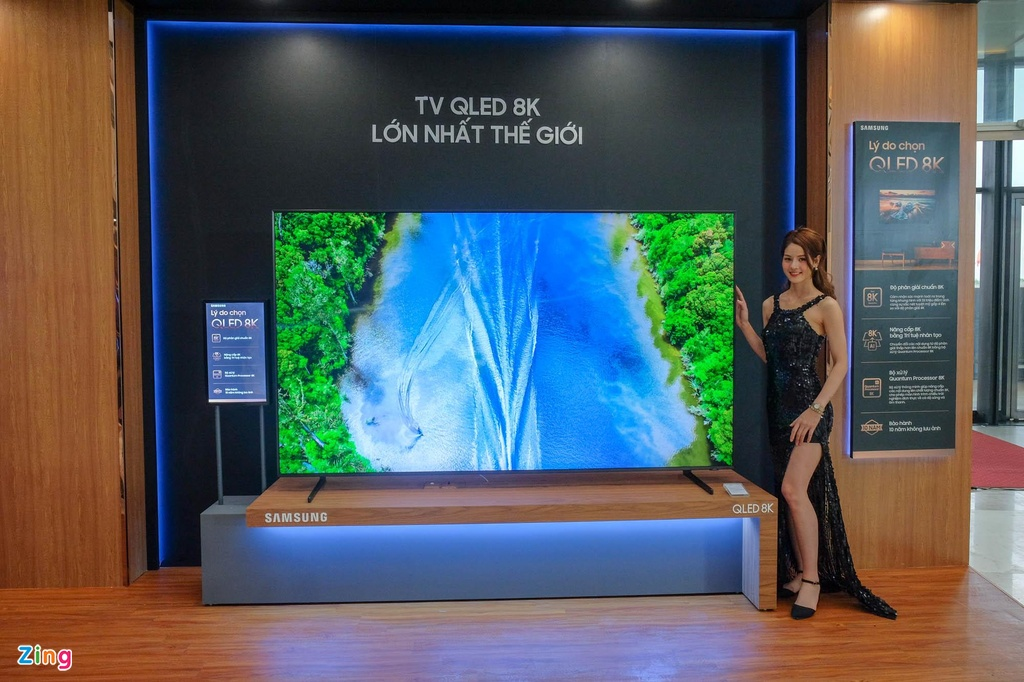 Samsung ra mat TV QLED 8K dau tien tai Viet Nam hinh anh 1