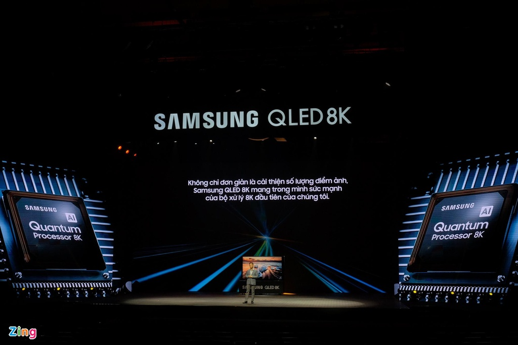 Samsung ra mat TV QLED 8K dau tien tai Viet Nam hinh anh 3