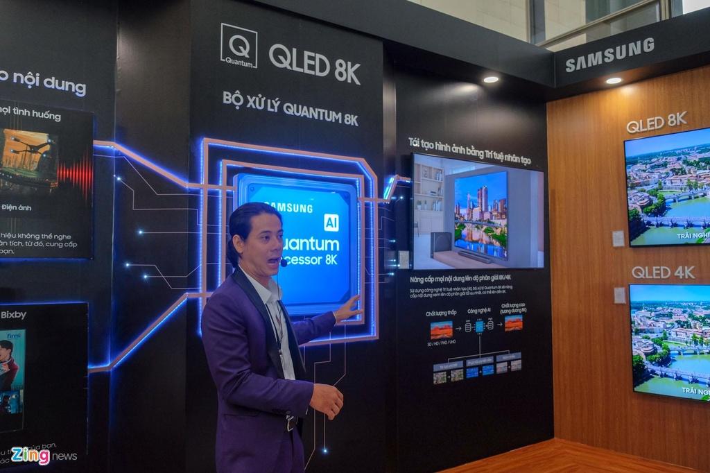 Samsung ra mat TV QLED 8K dau tien tai Viet Nam hinh anh 5