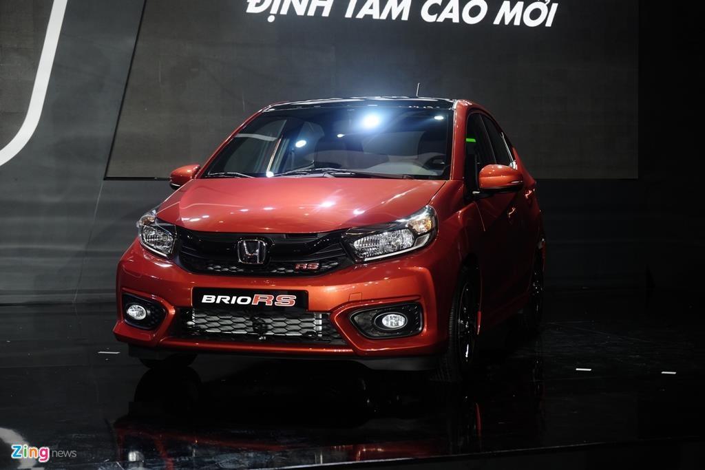 Honda Brio ra mắt đối đầu VinFast Fadil, giá từ 418 triệu đồng