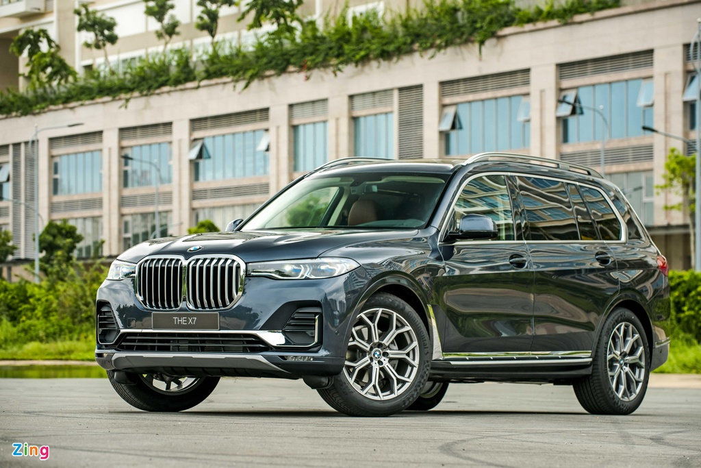 Chi tiet BMW X7 ra mat VN, SUV sang co lon gia 7,5 ty dong hinh anh 1