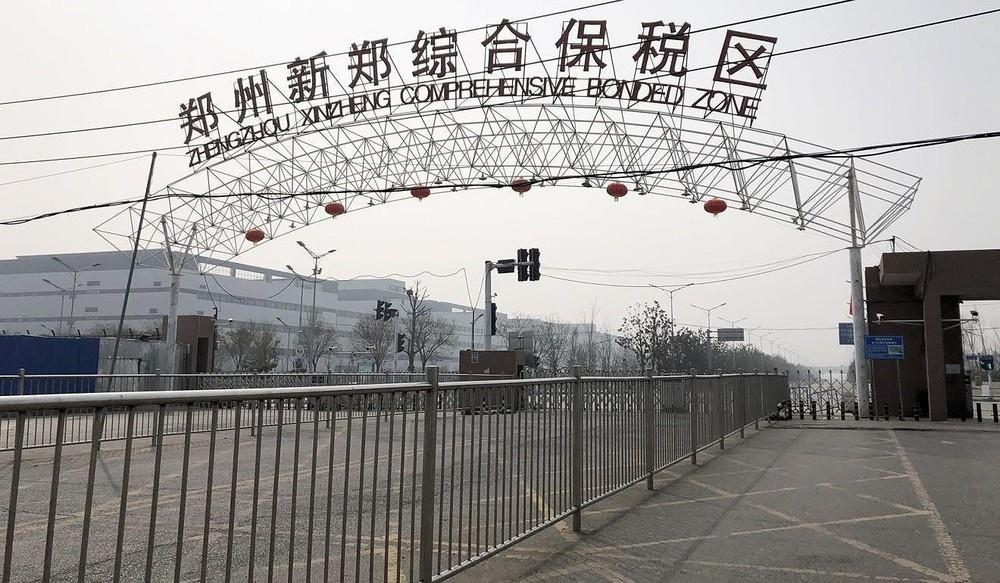 Quy trinh lam iPhone moi dinh tre vi mot con virus hinh anh 3 Foxconn_zhengzhou.jpg