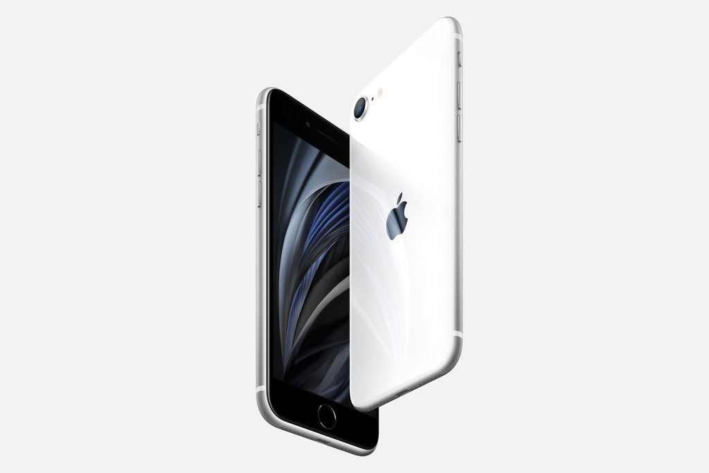 iPhone SE 2020 la cu danh chi mang toi the gioi Android hinh anh 1 iphone_SE_grey_apple.jpg