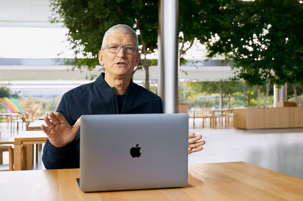 Apple ra mat macbook chay chip apple m1 anh 4