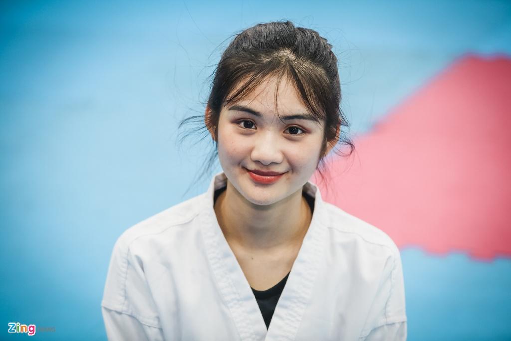 Tu cao thu karatedo den Miss Tai nang DH Hutech 2019 hinh anh 7