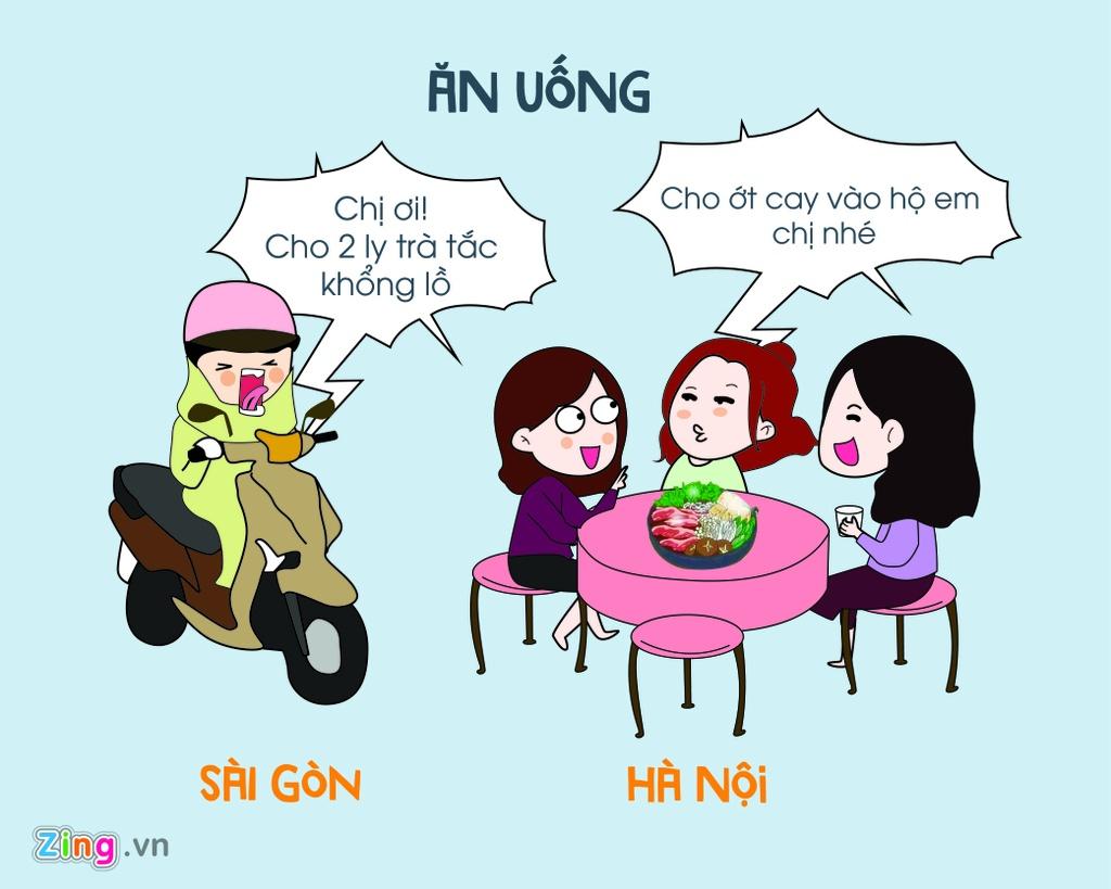 Khi mua dong ve, Ha Noi va Sai Gon khac nhau the nao? hinh anh 5
