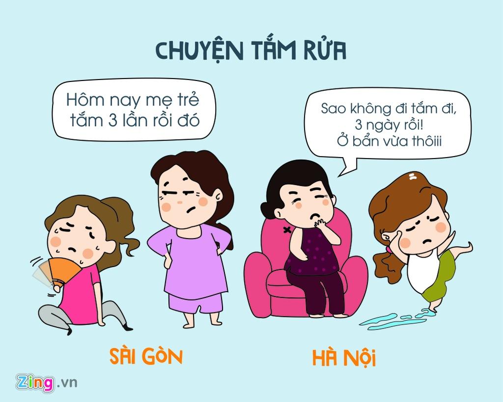 Khi mua dong ve, Ha Noi va Sai Gon khac nhau the nao? hinh anh 6