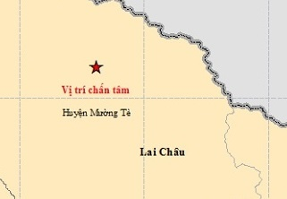 dong dat cap 8-9 co the xay ra o Tay Bac anh 2
