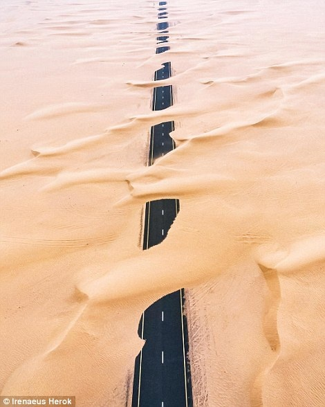 Ve trang le cua Dubai khi nhin tu tren khong hinh anh 4