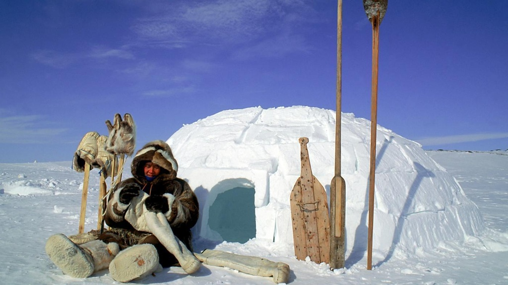 Cuoc song o noi vung cuc cua nguoi Eskimo hinh anh 1