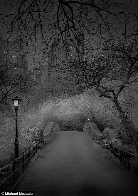 Central Park am u khong mot bong nguoi vao ban dem hinh anh 8