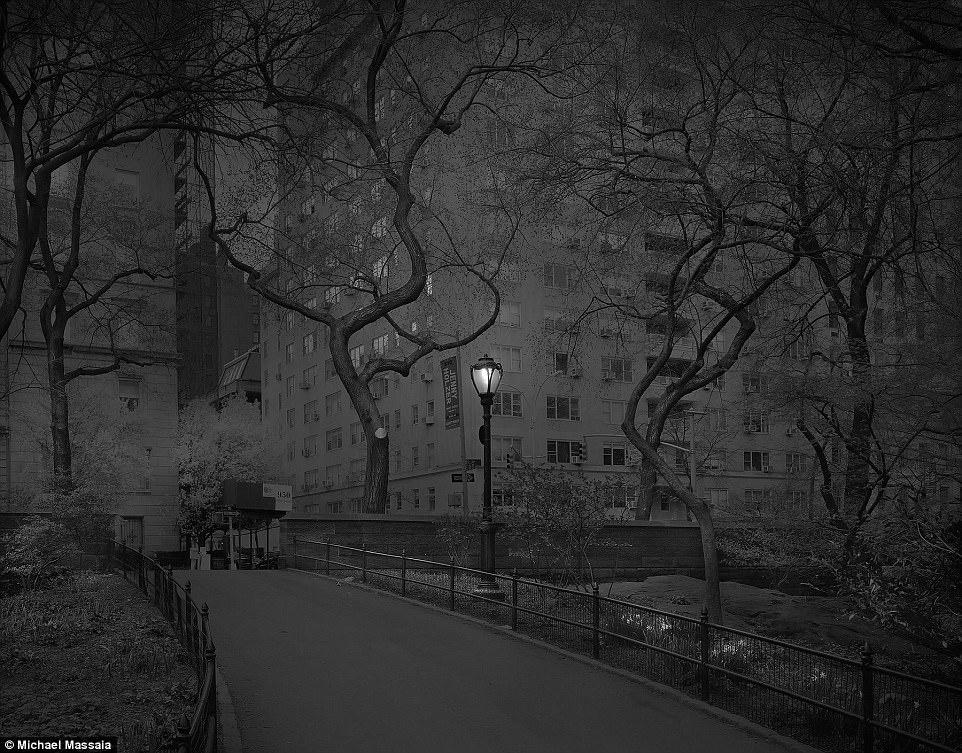 Central Park am u khong mot bong nguoi vao ban dem hinh anh 13