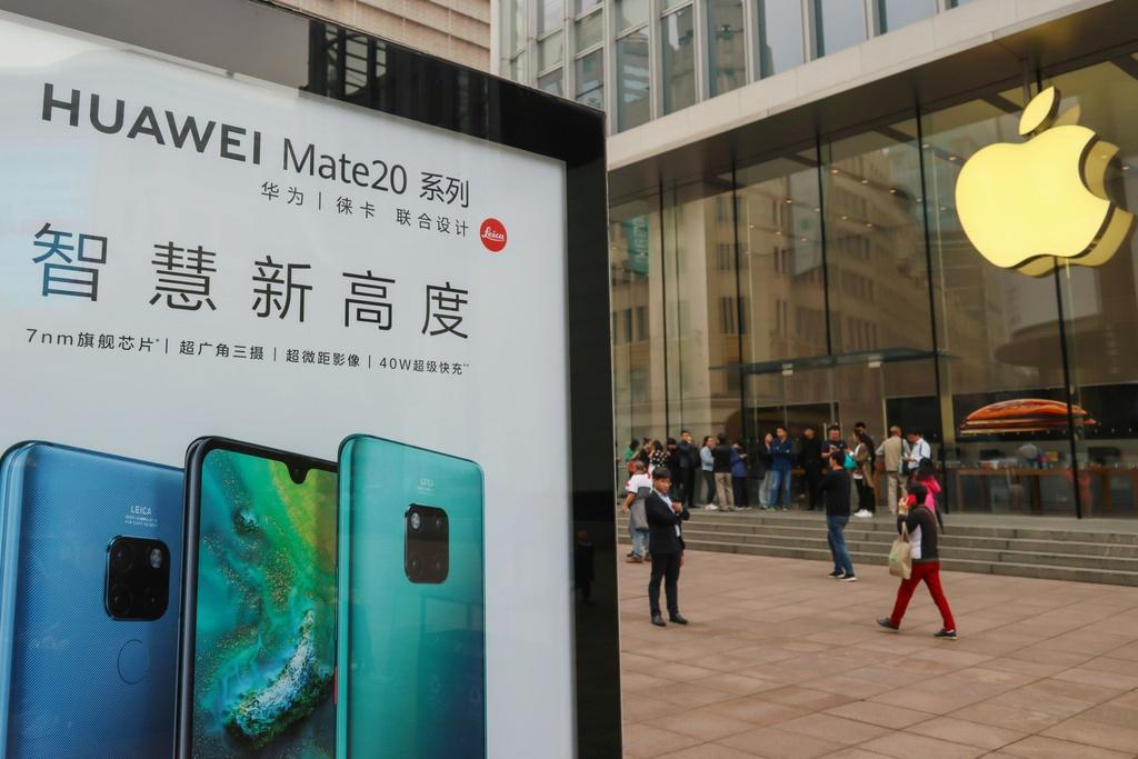 Tra dua cho Huawei, nguoi dung TQ keu goi tay chay iPhone hinh anh 1
