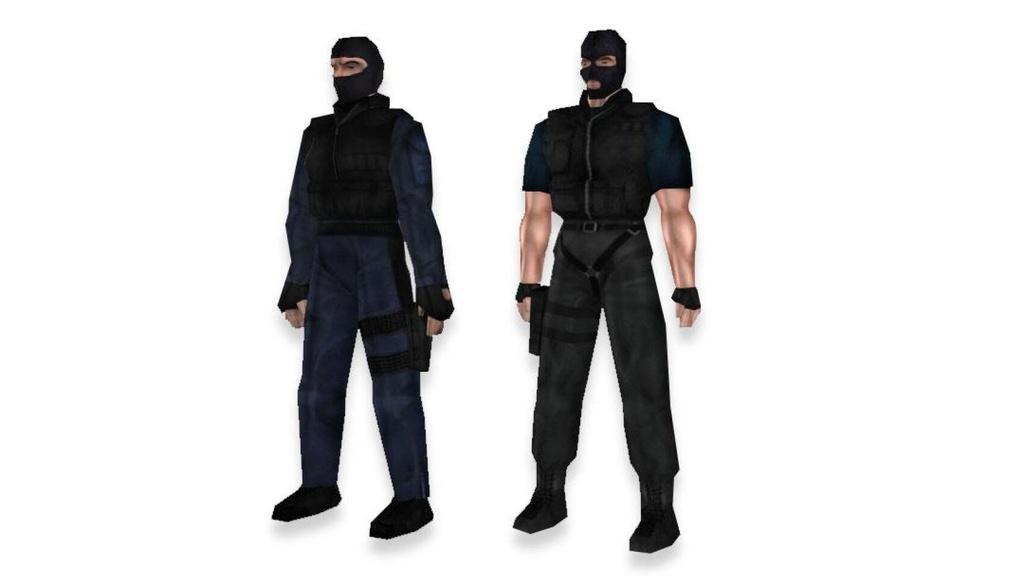 Rất khó để phân biệt đồng đội và kẻ thù. Trong hình này, bên phải là kẻ khủng bố. Ảnh: DR.