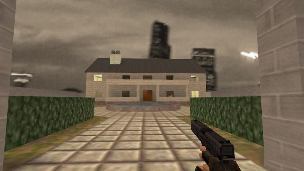 ''cs_mansion' 'là một trong những bản đồ đầu tiên trong phiên bản beta đầu tiên của ''Counter-Strike''. Đến nay map này vẫn còn phổ biến. Ảnh: DR.