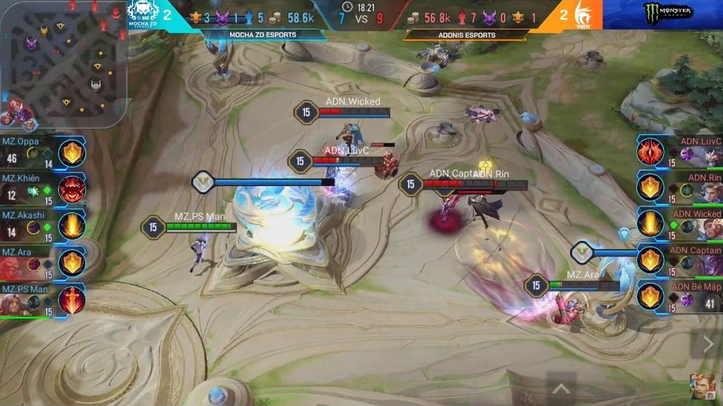 Thua doi cuoi bang, tuyen Lien Quan di SEA Games chia tay AIC 2019 hinh anh 2