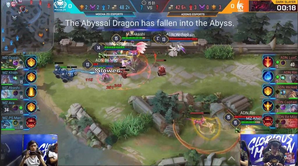 Thua doi cuoi bang, tuyen Lien Quan di SEA Games chia tay AIC 2019 hinh anh 1