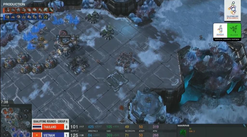eSports VN ngay dau SEA Games 30: Starcraft thang tuyet doi hinh anh 5