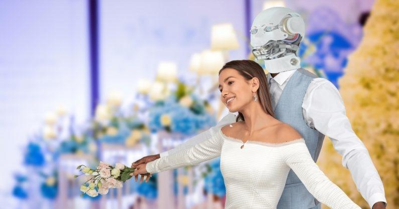 Con người có thể kết hôn với người máy? Ảnh: TNW.